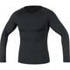 GORE RUNNING WEAR Essential Base Layer Shirt Long Men black